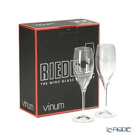 【ポイント10倍】リーデル ヴィノム キュヴェ・プレスティージュ・シャンパン 6416/48 ペア RIEDEL ワイングラス シャンパングラス ギフト 食器 ブランド 結婚祝い 内祝い