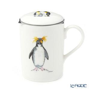 ロイカーカム イワトビペンギン こし器付ビーカー・ルーシー 325cc マグカップ おしゃれ かわいい 食器 ブランド 結婚祝い 内祝い