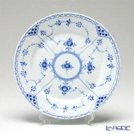 【ポイント10倍】ロイヤルコペンハーゲン (Royal Copenhagen) ブルー フルーテッド ハーフレース プレート(フラット) 19cm 1102620/1017222 北欧 ブルーフルーテッド 皿 お皿 食器 ブランド 結婚祝い 内祝い