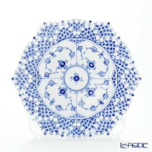 【ポイント10倍】ロイヤルコペンハーゲン (Royal Copenhagen) ブルー フルーテッド フルレース プレート(ダブルレース) 21cm 1103636/1017241 北欧 ブルーフルーテッド 皿 お皿 食器 ブランド 結婚祝い