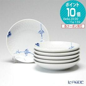 【ポイント10倍】ロイヤルコペンハーゲン (Royal Copenhagen) ブルーパルメッテ プレート 10cm 6枚セット 2500610 北欧 皿 お皿 食器 ブランド 結婚祝い 内祝い