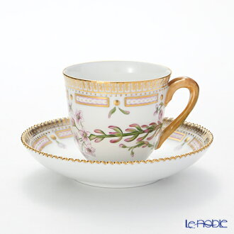 (Royal Copenhagen) Royal Copenhagen Flora Danica Coffee Cup & Saucer 170 ml 1147071 H