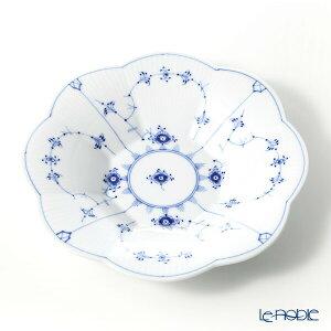 【ポイント10倍】ロイヤルコペンハーゲン (Royal Copenhagen) ブルー フルーテッド プレイン ペタルボウル 25.5×H4.5cm 1101397 北欧 ブルーフルーテッド プレート 皿 お皿 食器 ブランド 結婚祝い 内祝