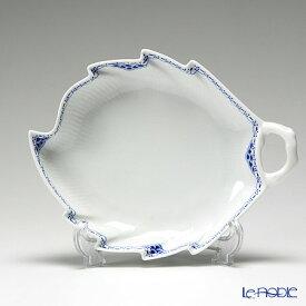 【ポイント10倍】ロイヤルコペンハーゲン (Royal Copenhagen) プリンセス ブルー ディッシュ(葉型) 23×18.5cm 1104357 北欧 プレート 皿 お皿 食器 ブランド 結婚祝い 内祝い