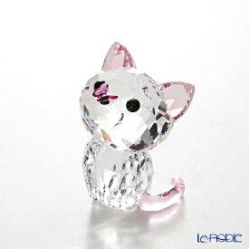 スワロフスキー Kitten Millie(アメリカンショートヘア) SWV5-223-597 Swarovski 動物 置物 オブジェ 人形 フィギュリン インテリア