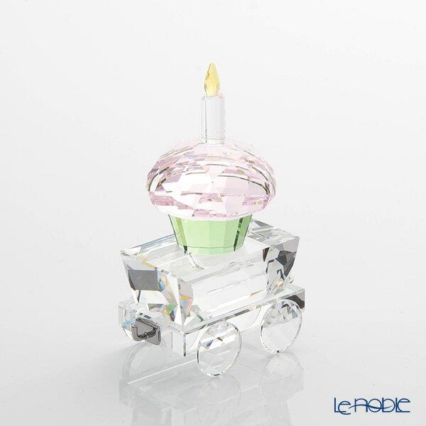 スワロフスキー カップケーキのワゴン SWV5-377-674 18SS【楽ギフ_包装選択】【楽ギフ_のし宛書】 置物 オブジェ インテリア