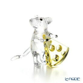 【ポイント10倍】スワロフスキー マウスとチーズ SWV5-464-939 19AW Swarovski 動物 置物 オブジェ 人形 フィギュリン インテリア