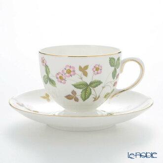 韦奇伍德 (韦奇伍德) 野生草莓茶杯与碟 (李)