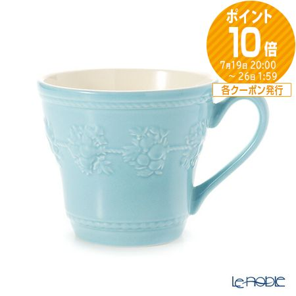 ウェッジウッド (Wedgwood) フェスティビティ マグ 300cc(ブルー)【楽ギフ_包装選択】【楽ギフ_のし宛書】 ウエッジウッド 母の日 結婚祝い お祝い マグカップ 食器 ブランド 内祝い