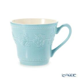 ウェッジウッド (Wedgwood) フェスティビティ マグ 300cc(ブルー) /// ウェッジウッド マグカップ おしゃれ かわいい シンプル 花柄 フラワー柄 高級 ブランド 食器 ウエッジウッド // ギフト プレゼント 贈り物 結婚祝い 引き出物 お祝い 内祝い