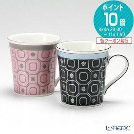ウェッジウッド (Wedgwood) パラディオ マグ 300cc(ピンク&ブルー) ペア 【ブランドボックス付】 /// ウェッジウッド マグカップ おしゃれ かわいい ペアマグカップ 花柄 ウエッジウッド // ギフト プレゼント 贈り物 結婚祝い お祝い 内祝い