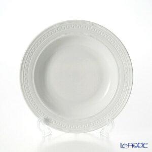 ウェッジウッド (Wedgwood) インタグリオ スーププレート 23cm ウエッジウッド 結婚祝い 内祝い お祝い 白 深皿 カレー パスタ お皿 食器 ブランド