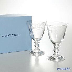 ウェッジウッド (Wedgwood) フェスティビティ クリスタル ワイン 200cc ペア ウエッジウッド 結婚祝い 内祝い お祝い グラス ワイングラス 兼用 ギフト 食器 ブランド