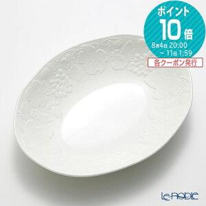 【ポイント10倍】ウェッジウッド (Wedgwood) ストロベリー&バイン オーバルボウル 28cm ウエッジウッド 結婚祝い 内祝い お祝い 白 プレート 皿 お皿 食器 ブランド