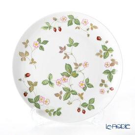【ポイント10倍】ウェッジウッド (Wedgwood) ワイルドストロベリー カジュアル クーププレート 23cm ウエッジウッド 結婚祝い 内祝い お祝い 皿 お皿 食器 ブランド