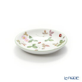【ポイント10倍】ウェッジウッド (Wedgwood) ワイルドストロベリー カジュアル プチトレイ 10cm グリーン ウエッジウッド 結婚祝い 内祝い お祝い プレート 皿 お皿 食器 ブランド