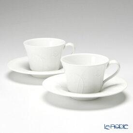 【ポイント10倍】ウェッジウッド (Wedgwood) ネイチャー ティーカップ&ソーサー ペア ウエッジウッド 結婚祝い 内祝い お祝い 白 おしゃれ かわいい 食器 ブランド