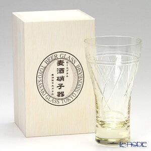 麦酒硝子器 18906DGY-C585 ビヤーグラス(ビアタンブラー) 290ml 【木箱入】 ビールグラス ビアグラス ピルスナー ギフト 食器 ブランド 結婚祝い 内祝い