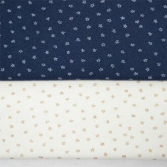 sumusunitto布料105cm宽度/星的王子花纹