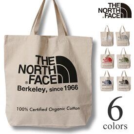 TNFオーガニックコットントート ノースフェイス トートバッグ エコバッグ THE NORTH FACE NM81908