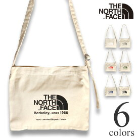 ノースフェイス ミュゼットバッグ オーガニックコットン ショルダーバッグ THE NORTH FACE Musette Bag NM81765