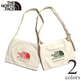 【特価セール/返品交換不可】ノースフェイス ミュゼットバッグ オーガニックコットン ショルダーバッグ THE NORTH FACE Musette Bag NM81972