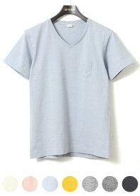 エントリーエスジー ENTRY SG エントリーSG Tシャツ Vネック ポケット付きTシャツ 半袖 [GENOVA] ジェノバ 【1枚までメール便可能】