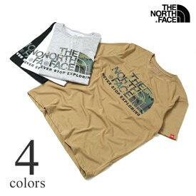 【セール】ノースフェイス Tシャツ THE NORTH FACE S/S CAMOUFLAGE LOGO TEE カモフラージュロゴ半袖Tシャツ NT31932