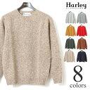 【超特価セール/返品交換不可】ハーレーオブスコットランド シェットランドセーター ニット Harley of Scotland メンズ レディース サイズ38(S)〜46(XXL)まで