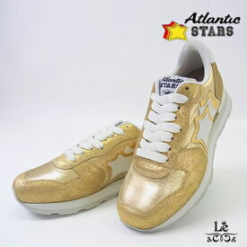【50%OFF】Atlantic STARS アトランティックスターズ VEGA ベガ COO-86B ゴールド 金 ラメ レディース イタリア製 国内正規品【送料無料】