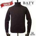 【30%OFF】【46サイズのみ】BAFY バフィー タートルネック ニットブラウン ウール イタリア製 秋冬モデル 国内正規品…