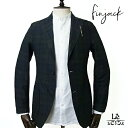 【40%OFF】Finjack フィンジャック メンズ ジャケット タータンチェック ブラックウォッチ 春夏モデル イタリア製 国…
