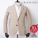 LARDINI(ラルディーニ)/ニットジャケット/テーラーリング/しわ加工/紳士服/イタリア製/春夏モデル/60480【送料無料】