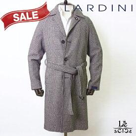 【SALE】LARDINI ラルディーニ グレンチェック コート JQ23090 ILA53633 ウール イタリア製 メンズ 秋冬モデル 国内正規品 187000【送料無料】