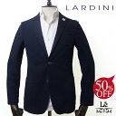 【30%OFF】【44サイズのみ】LARDINI ラルディーニ シャツジャケット JPCM21 EGRS52562 シアサッカー 無地 ネイビー ブ…