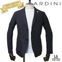 【New Arrival】LARDINI ラルディーニ ジャケット AMAJ リネンジャケット シャツジャケット ブラック ブートニエール …