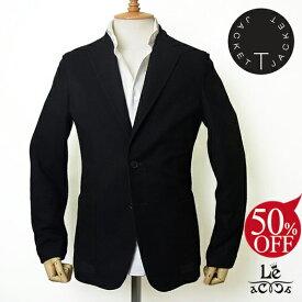 【50%OFF】T-JACKET ティージャケット TONELLO トネッロ ジャガードジャケット シングル ブラック 黒 メンズ 春夏モデル イタリア製 国内正規品 63720【送料無料】