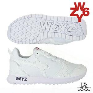 【40%OFF】W6YZ ウィズ WIZZ JET-M スニーカー 日本限定 モデル ホワイト 白 メンズ ランニングスニーカー 厚底 ダッドスニーカー ローカット イタリア ブランド 国内正規品 27500【送料無料】