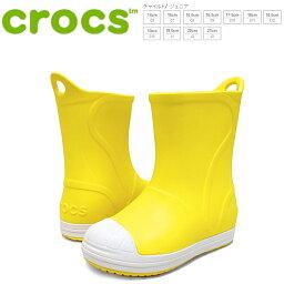 kurokkusubampuittobutsukizzu crocs bump it boot kids[203515-73k]黄色小孩雷恩長筒靴●