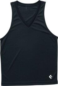 CONVERSE(コンバース)ゲームインナーシャツ(タンクトップ)ブラック(con-cb251703-1900)