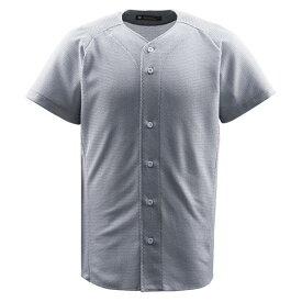 デサント(DESCENTE)ジュニアフルオープンシャツシルバー(ds-jdb1010-slv)