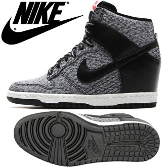 Nike sneaker high cut women s sneakers in her NIKE WMNS DUNK SKY HI TXT dunk  sky high textiles 644410-001- a4b4ceea3eed
