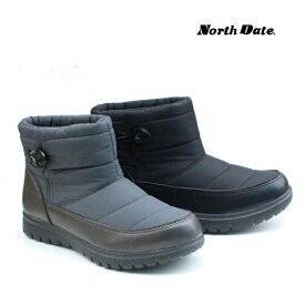 ノースデイト NorthDate スノーブーツ Wグリップスパイク搭載 17025 防寒 防滑 日時指定不可・12月末発送