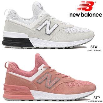新平衡女士人運動鞋New Balance MS574正規的物品跑步鞋