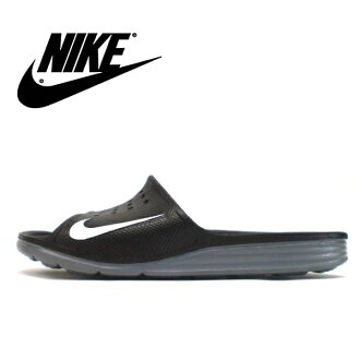 Nike sandals men gap Dis NIKE SOLARSOFT SLIDE Nike solar software slide 386,163-011 sports sandals shower sandals men's ladies sandal ●