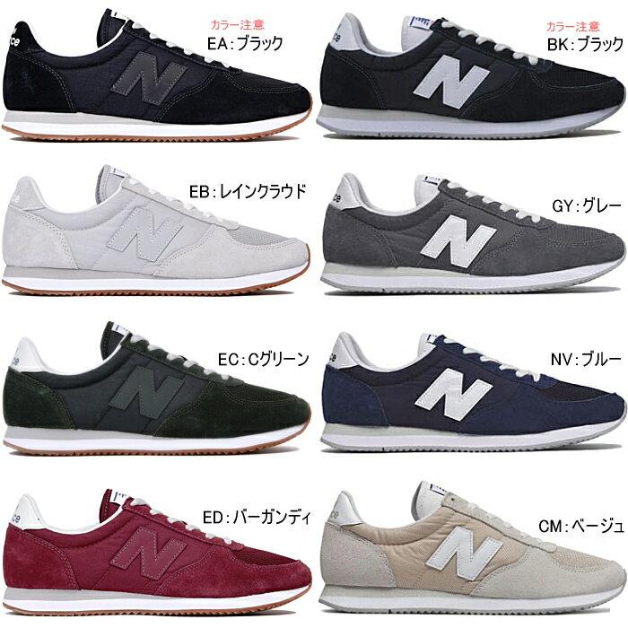 【SALE:20%OFF】ニューバランス 220 New Balance 正規品 メンズ レディース スニーカー U220 ●