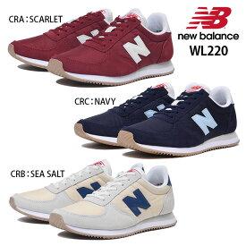 0c0ca362be873 ニューバランス New Balance WL220 CRA CRC CRB レディース ランニングシューズ シュータンラベル 70年代テイスト