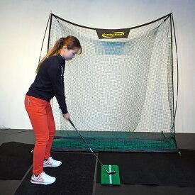 ゴルフ 練習用ネット LH-001プロテクションネット+練習ボール50個付き限定セット 持ち運び 組み立て 分解らくらく 専用収納袋付 リーディングヒッター ゴルフネットゴルフゲージ