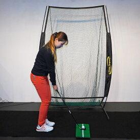 ゴルフ練習用ネット LH-002 練習ボール50個付き コンパクトサイズ 持ち運び 組み立て 分解らくらく 専用収納袋付き リーディングヒッター ゴルフゲージ