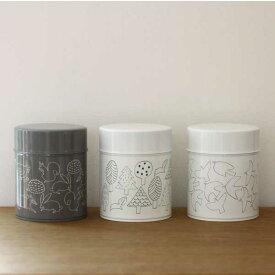 松尾ミユキ コーヒー缶 (M)【缶 コーヒー 保存容器 保存 北欧 雑貨】【北欧 ナチュラル おしゃれ カフェ 雑貨】